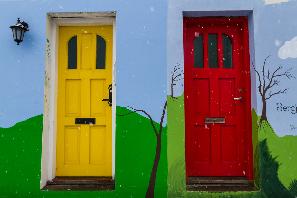 Colorful Doors of Iceland