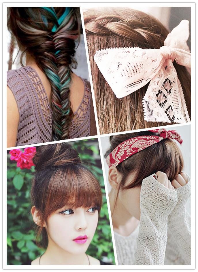 Hebillas, broches, vinchas y tiaras, gomitas para el pelo, moños, horquillas, cintas.