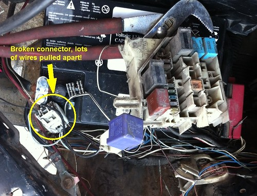 help re wiring fuse box please - Toyota Yaris Forums