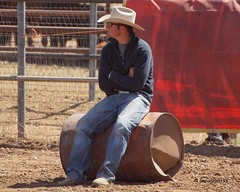 Dewey Barrel Race