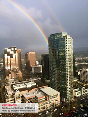 Bellevue rainbow - photo by blissberri bellevue square | Bellevue.com