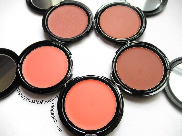 MUFE HD Cream Blush Second Skin 1
