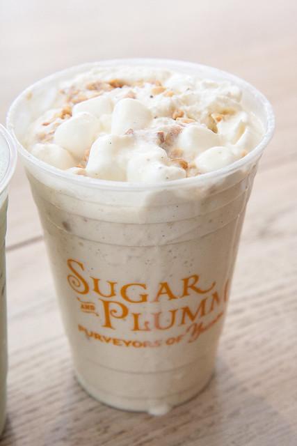 Fluffernutter milkshake, Sugar and Plumm
