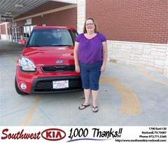 #HappyBirthday to Jane Simmons from Blair Stouffer at Southwest KIA Rockwall!