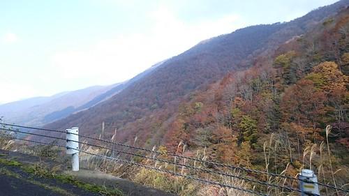 紅葉ツアーなのでしっかり山も見ておく紅葉も