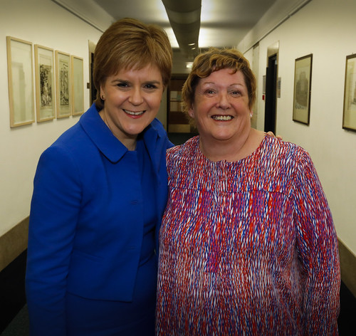 First Minister and STUC President Helen Connor (1 of 1)