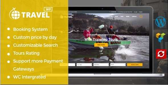 Travel WP WordPress Theme free download