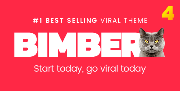 Bimber v4.9.1 - Viral Magazine WordPress Theme