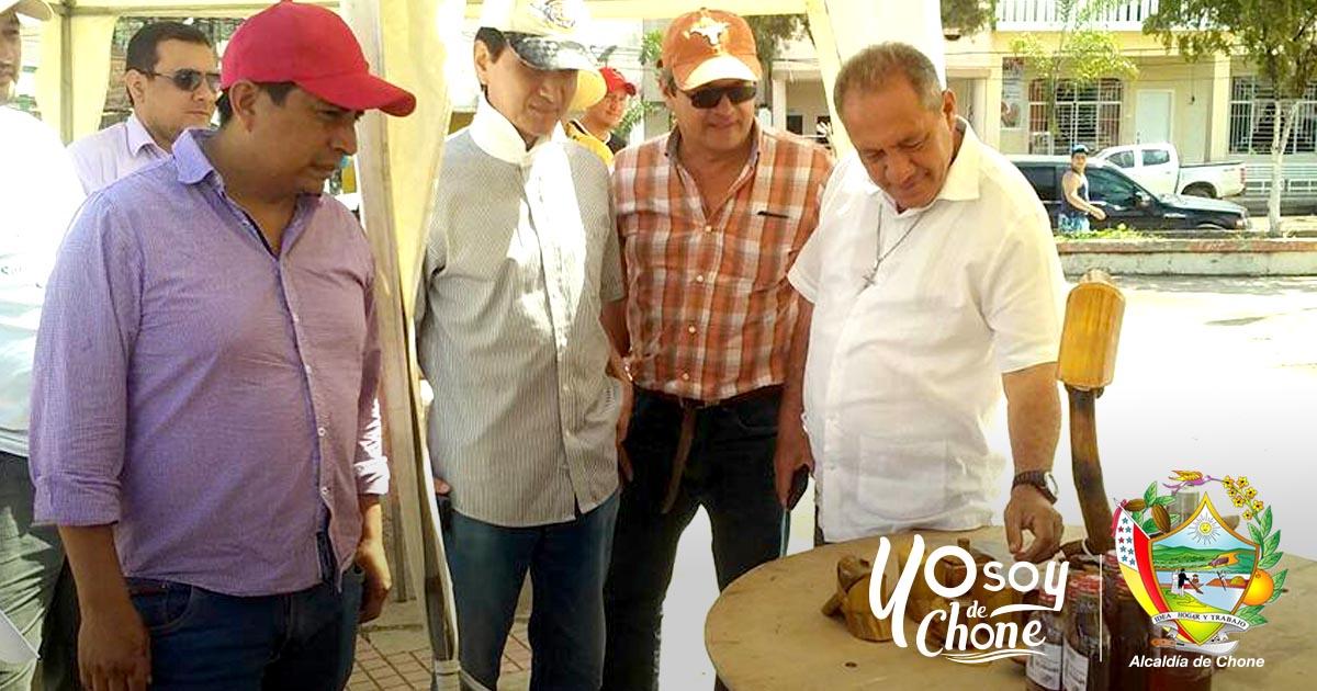 Feria Agroproductiva impulsa el desarrollo de los comerciantes de Chone