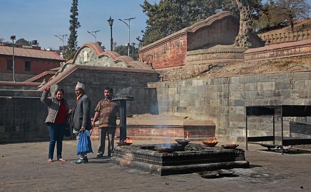 Pashupatinath Temple, Kathmandu, Nepal 25 januari 2017