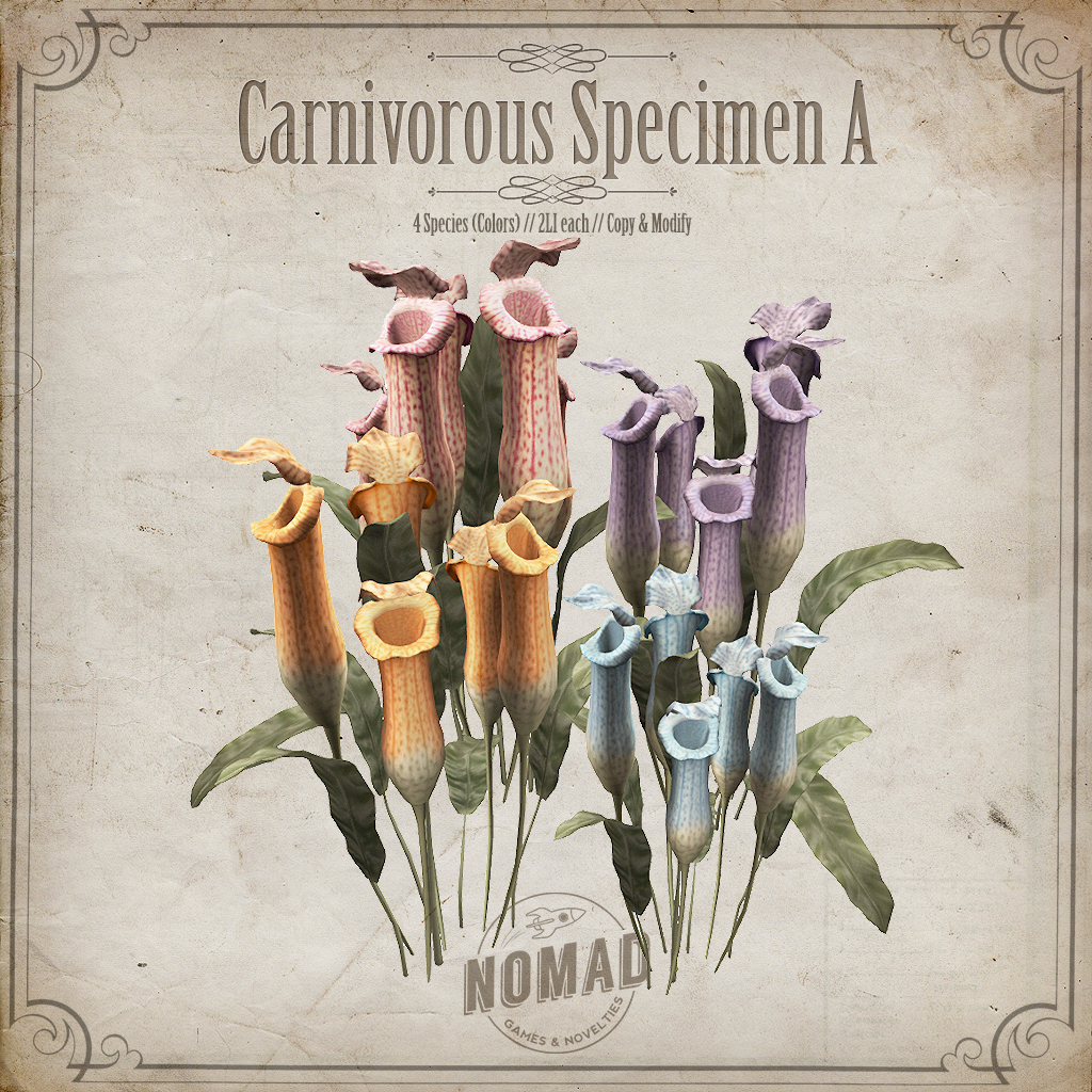NOMAD // Carnivorous Specimen - SecondLifeHub.com