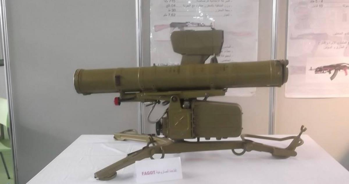 القوات البرية الجزائرية [  Missiles Anti-Chars ]   33226279323_5318d66bee_o