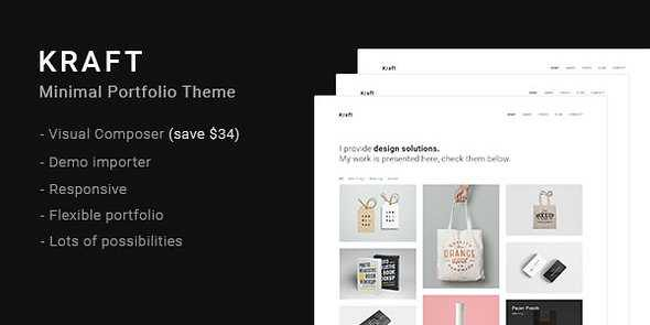 Kraft WordPress Theme free download