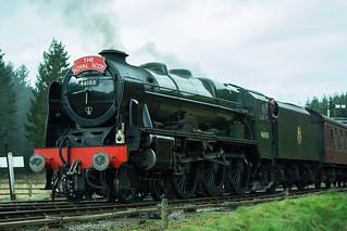 20170330-51_The Royal Scot Engine 46100 leaving Levisham Station