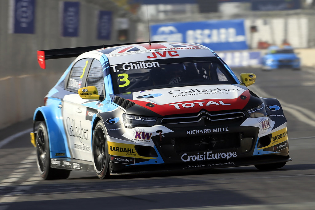 03 CHILTON Tom (GBR) Citroën C-Elysée team Sébastien Loeb Racing action during the 2017 FIA WTCC World Touring Car Race of Morocco at Marrakech, from April 7 to 9 - Photo Paulo Maria / DPPI