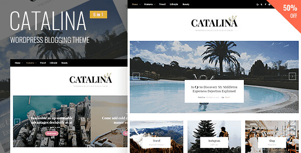Catalina WordPress Theme free download