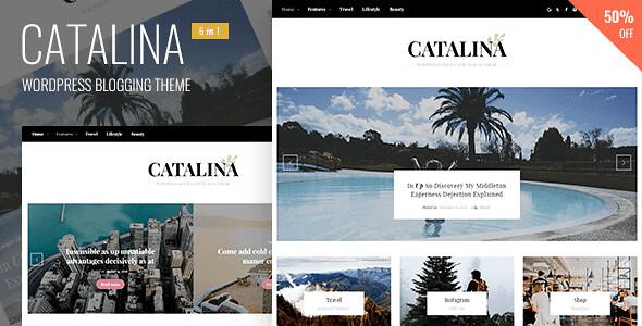 Catalina WordPress Theme free download
