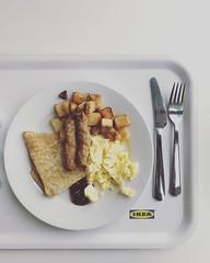 Swedish American Breakfast.