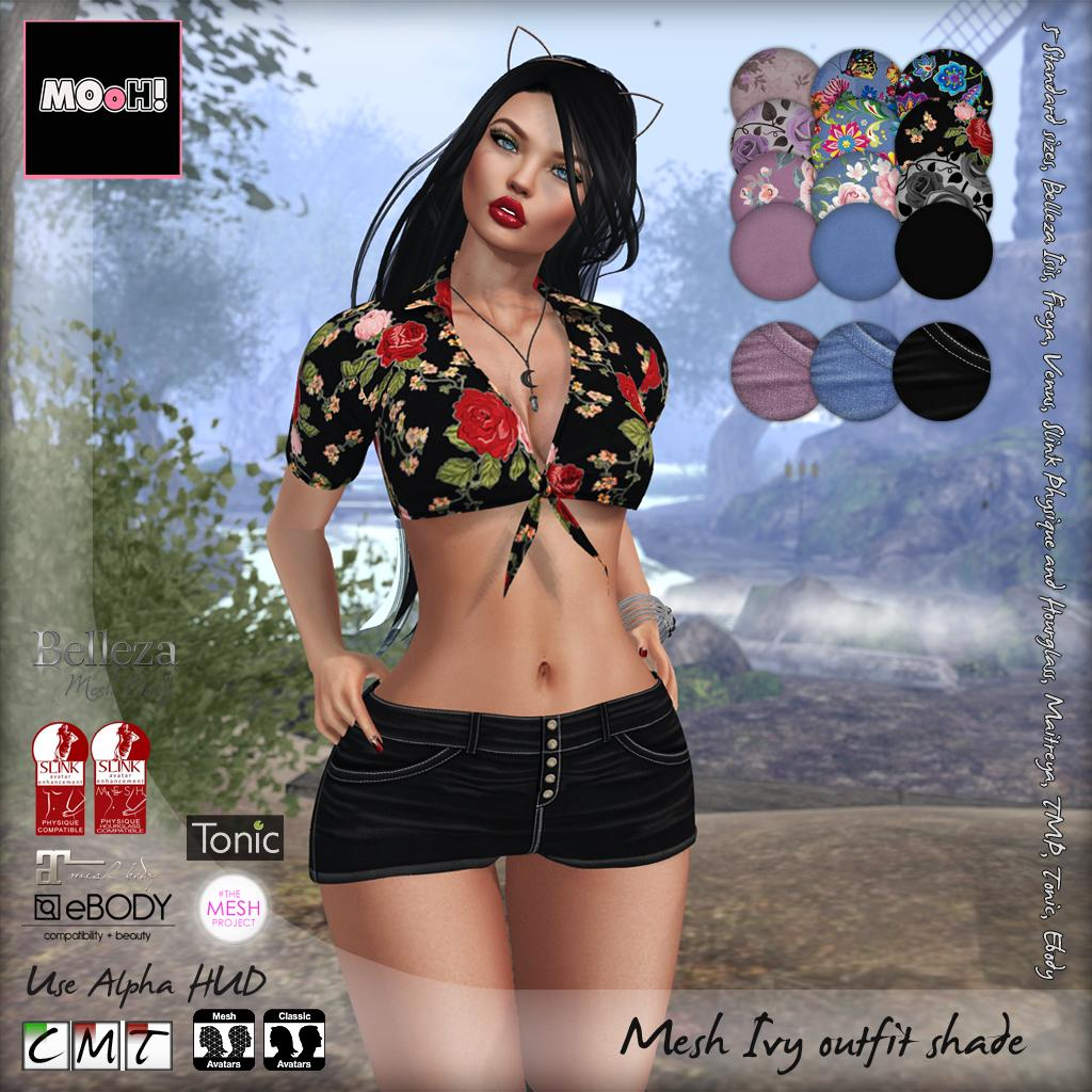 Ivy outfit shade - SecondLifeHub.com