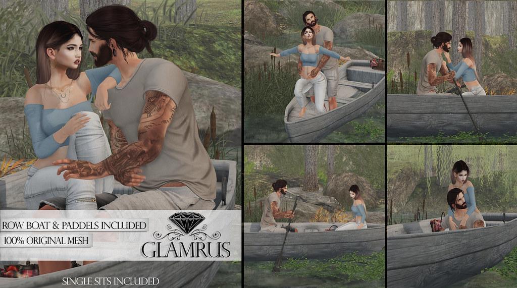 Glamrus . Row Boat FM AD - SecondLifeHub.com