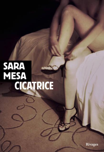 Book cover photo for Cicatrice de Sara Mesa (Auteur) Photographe Edward Olive Nue artistique