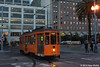 MUNI F-LINE CARS--1893 at Don Chee Way/Embarcadero IB