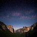 Milky Way over Yosemite Valley by Malenkov in Exile