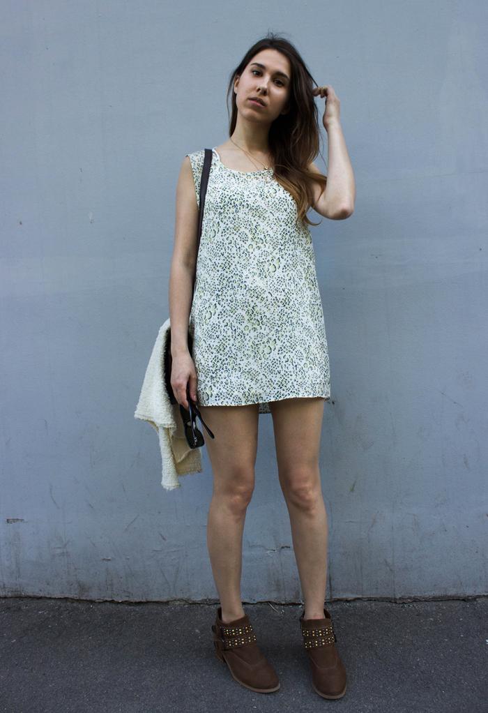 snaky dress