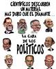 La cara de los políticos