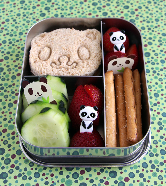 Panda-palooza Preschool Bento #462