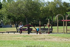 Klaus Naujok posted a photo:	Father's Day with the grandkids at the local play ground.
