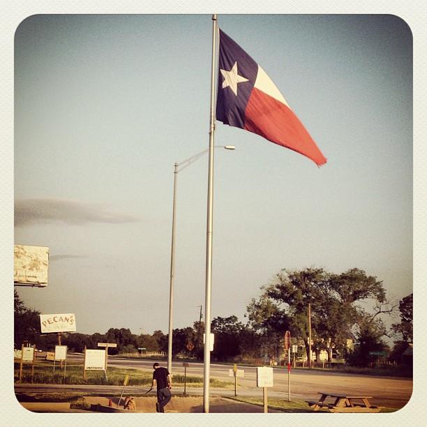 I love my state. #texasbaby #texasflag #redwhiteandblue #texas #dontmesswithtexas #star