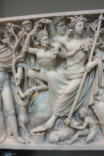 triumph of dionysos and the seasons sarcophagus Roman relief: dionysus roman relief from the so-called badminton sarcophagus, representing the triumph of dionysus and the four seasons marble, c260-270 ad.
