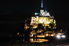 Night at Mont S. Michel