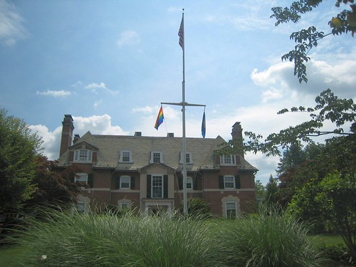Pride Flag at the Governor's Residence