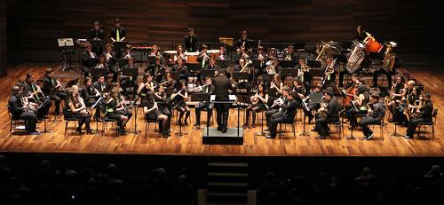 """V FESTIVAL DE BANDAS DE MÚSICA """"UNIVERSIDAD DE LEÓN"""" - BANDA DE MÚSICA JUVENTUDES MUSICALES-UNIVERSIDAD DE LEÓN - LEÓN 28.04.13 by juanluisgx"""