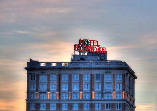 sunrise tampa florida nik hdr photomatix hotelfloridan