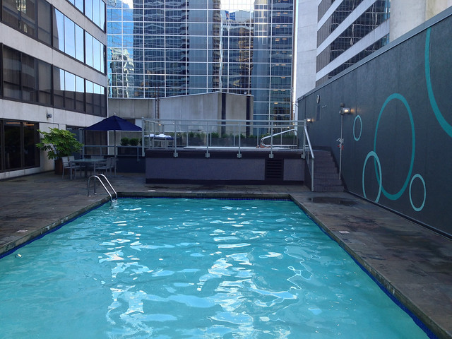 Swimming pool hyatt regency vancouver the pool was tiny b flickr photo sharing for Swimming pool supplies vancouver