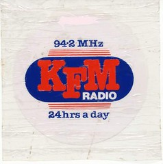 KFM car sticker