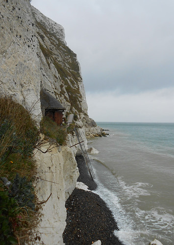 Langdon Searchlights Battery au pied des White Cliffs (Photo de Fred)