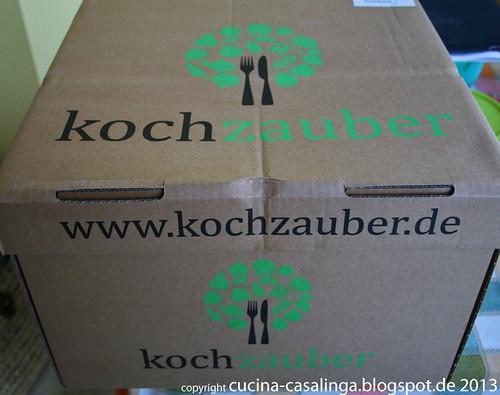 Kochzauber Karton geschlossen