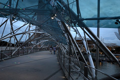 The Helix Bridge, Marina Bay, Singapore