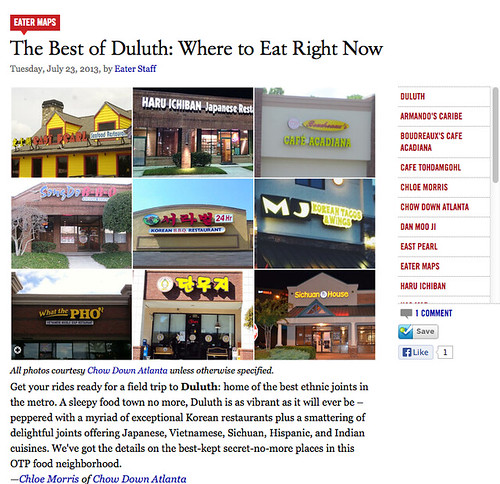 Eater Atlanta: Best of Duluth