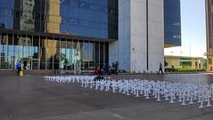 Manifestação dos aprovados em cocurso do Banco do Brasil