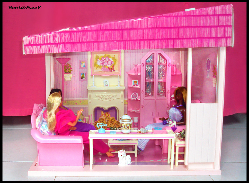 Ordinaire Barbie Living Pretty Furniture Collection 1987 ( Living Room )