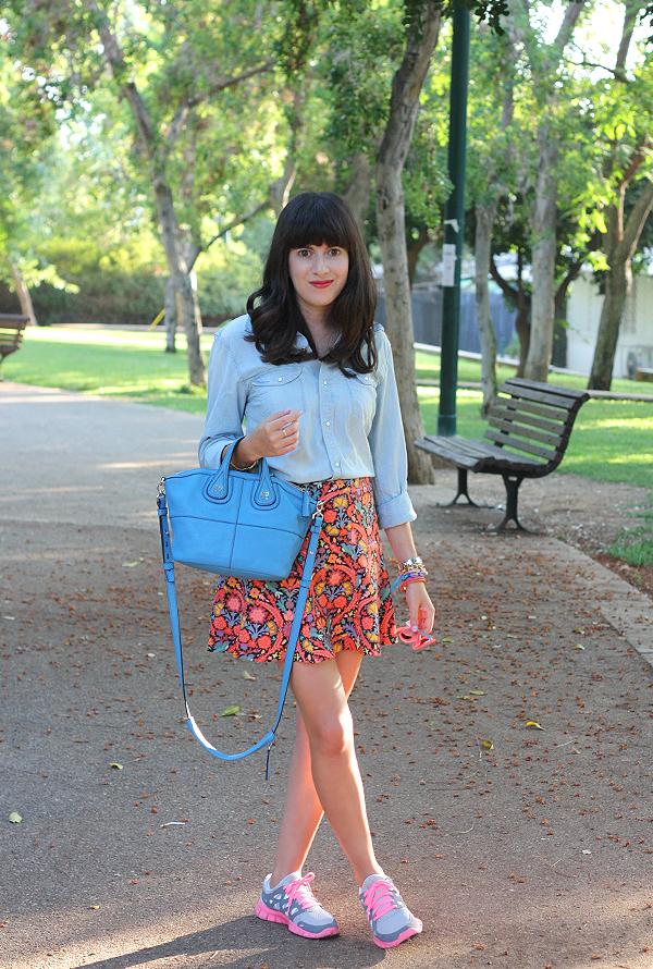 תיק ז'יבנשי, בלוג אופנה, סניקרס, נעלי נייקי, givenchy bag, nike, israeli fashion blog