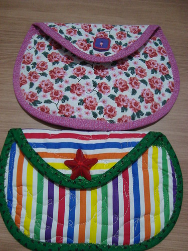 bolsinhas prontas by Maringá Patchwork by Ruth Urbinati