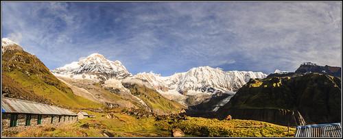 travel nepal panorama nature asia trips np wonders ghandruk westernregion 2013nepal