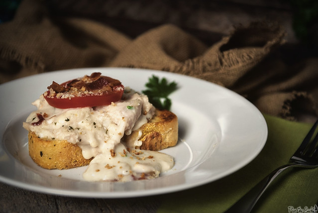 Classic Hot Brown - Turkey Sandwich via GirlCarnivore.com