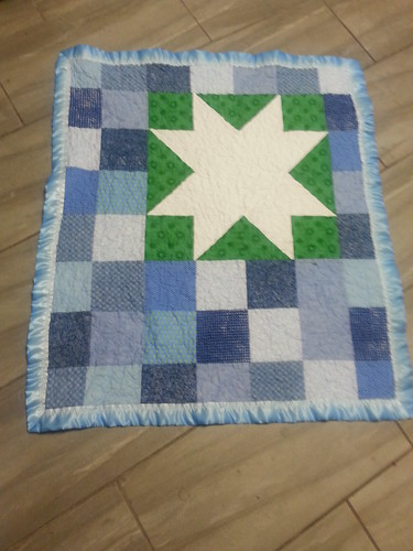 bug star baby quilt